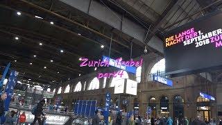 チューリッヒ中央駅~ジュネーブへ移動