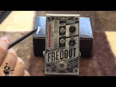 Digitech Freqout Sustain Pedal Inside and Out Review   tonymckenzie com