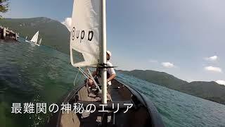 菖蒲が浜〜上野島〜菖蒲が浜 全国から38艇のアクアミューズが集結しワン...