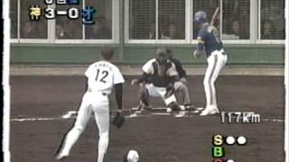 1994 安達智次郎 1     130kmに届かない速球で鈴木一朗から三振を奪う