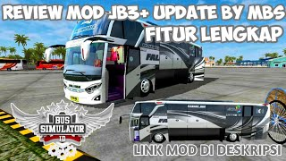 REVIEW MOD JB3 UPDATE BY MBS BUSSID V2 9