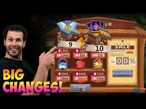 JT's F2P BIG Changes INSANE Luck Shocking ONETIME! Castle Clash