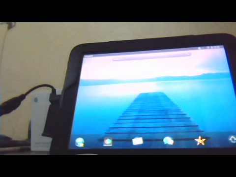 Hp touchpad usb host türkçe.wmv
