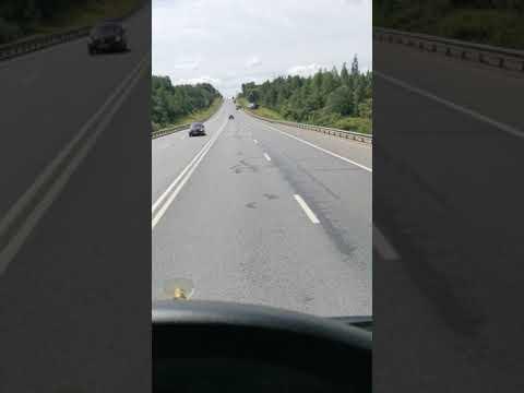 Авария в сторону Москвы, после дею. Деболовское.