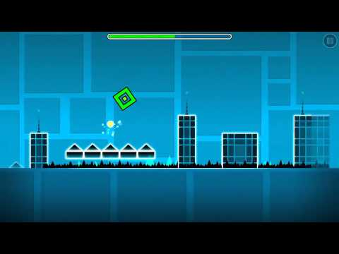 Geometry Dash - Level 3 - Polargeist - COMPLETED!!!!!