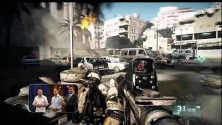 Battlefield 3 Gameplay on PS3  (720p)