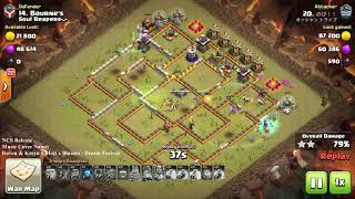 Battle War, Impossible 3 star with GiBoWitch Styles, Clash of clans 3 star th11 max