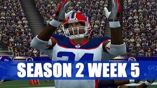 ESPN NFL 2K5 BILLS FRANCHISE - SHUTDOWN - VS VIKINGS (S2W5)