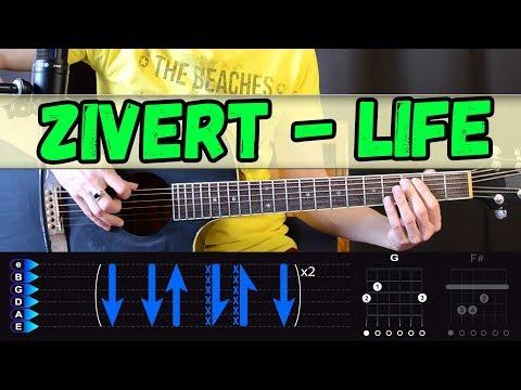 Zivert – Life на гитаре. Разбор от Гитар Ван. Аккорды, бой песни