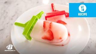 Lais Deleon Recipes: Strawberry Lemonade Amino Ice Pops - Bodybuilding.com