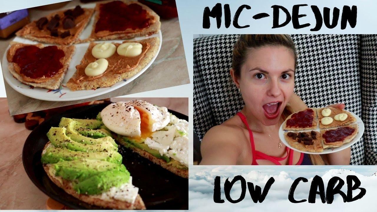 mic dejun low carb