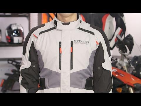 Black Alpinestars Stella Vence Drystar Motorcycle Bike Biking Jacket Small