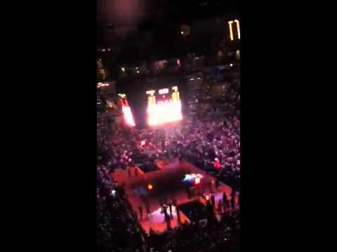 Game 6 of the 2011 Memphis Grizzlies VS San Antonio Spurs P