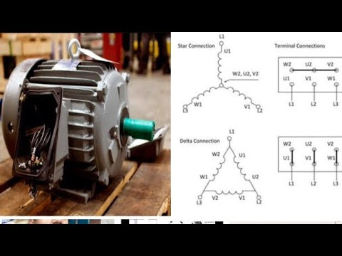 3 PHASE MOTOR CONNECTION - YouTube