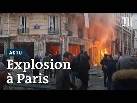 Explosion à Paris : les images des dégâts après une fuite de gaz