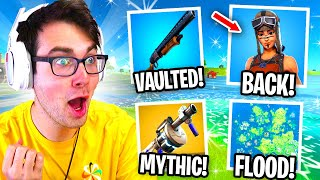 Everything NEW in Fortnite Season 3! (New Items, Map Changes, Mythic Weapons & MORE!)