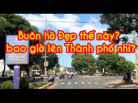 Thị xã BUÔN HỒ TỈNH ĐAKLAK ĐẸP THẾ NÀY BAO GIỜ LÊN THÀNH PHỐ NHỈ – Buon ho tiềm năng và phát triển