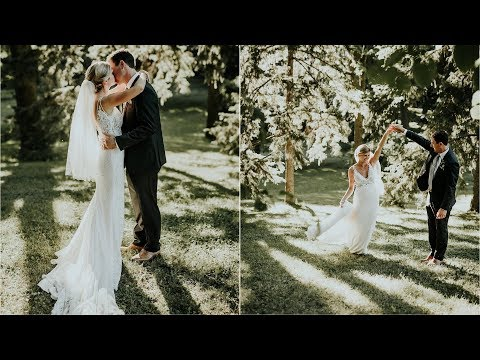 Kelly + Brian - Gorgeous Outdoor Wedding on Lake Minnetonka