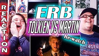 J. R. R. Tolkien vs George R. R. Martin. Epic Rap Battles of History REACTION!! 🔥