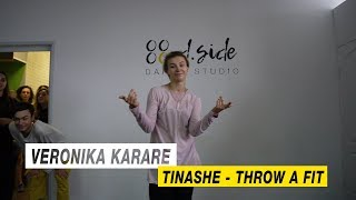 Tinashe - Throw A Fit | Choreography by Veronika Karare | D.Side Dance Studio