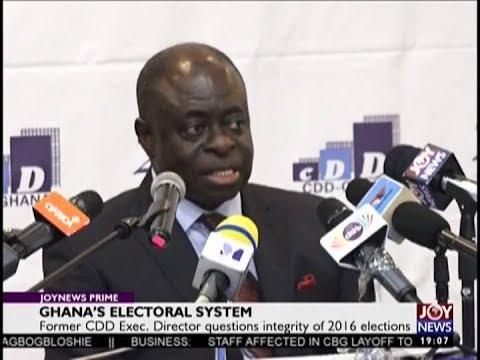 Ghana's Electoral System - Joy News Prime (31-8-18)
