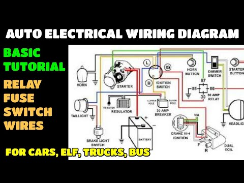 Auto Electrical Wiring Diagram Not For Electronics Youtube