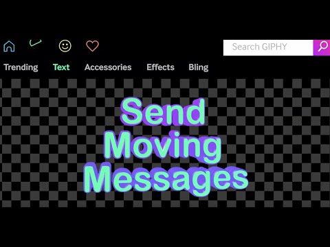 GIPHY Text