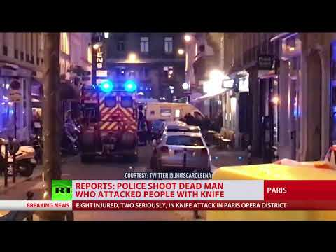 Paris stabbing attack: At least 1 killed & 8 injured