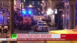 Paris stabbing attack: At least 1 killed & 8 injured [2018 Report]