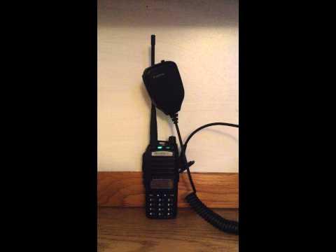 Baofeng UV-82 Radio Audio with Hand Microphone