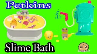 20 Petkins Take Slime Bath , Water Shower Season 4 + 5 Shopkins Cookieswirlc Video