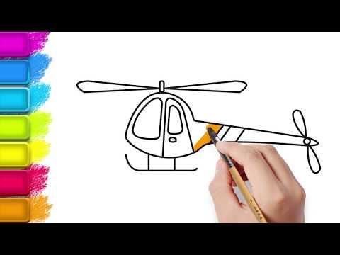 Download Helikopter Boyama Sayfası Helikopter Nasıl çizilir Sobe