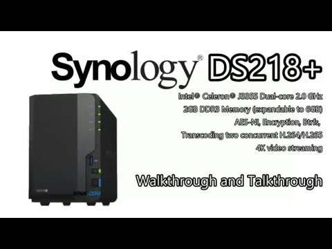 NEW Synology NAS - The DS218+ Diskstation NAS for 2017/18 is revealed