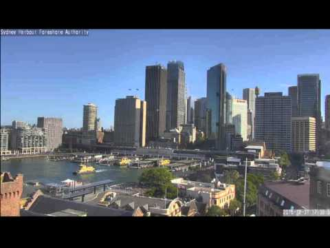 Sydney Harbour Foreshore Authority (The Rocks) Live Stream