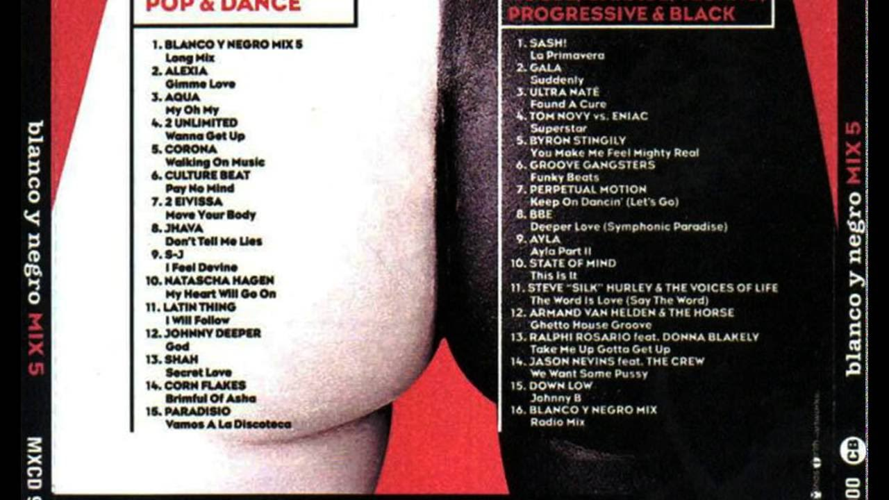 Blanco Y Negro Mix 5 Cd 1 05 Corona Walking On Music Youtube