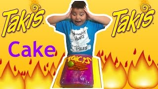 Takis Cake  My birthday