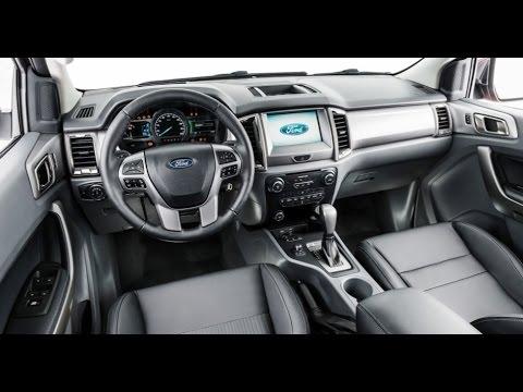 Novidade Nova Ford Ranger 2017 Interior E Exterior C Force Drive