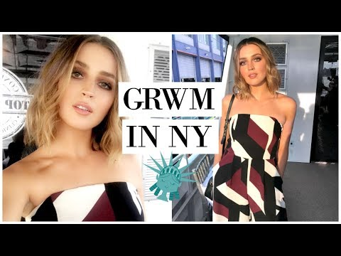 Get Ready With Me In NEW YORK | allanaramaa