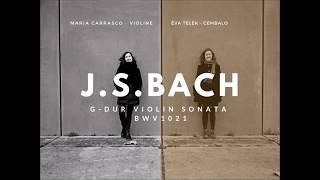 Sonata in G-Dur für Violine und Basso continuo, BWV 1021. Johann Sebastian Bach
