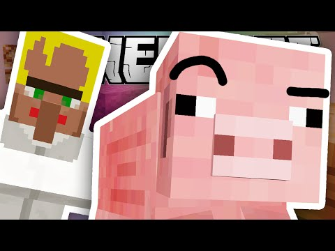 Minecraft   TED THE MYSTERIOUS PIG..