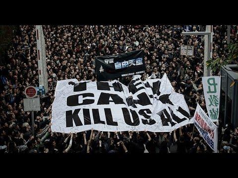 Hong Kong recorded - protest 2016Nov07