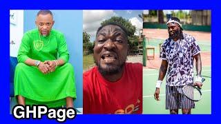 Mo Maame twɛ- Funny Face rain heαvy insʊlts on Fadda Dickson,Bola Ray & Adebayor;ɛxposes sɛcrets