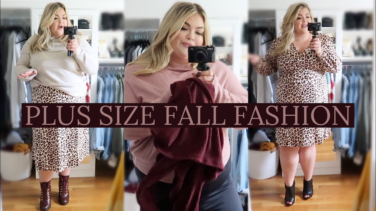[VIDEO] - PLUS SIZE FALL OUTFITS + STYLING TIPS 1