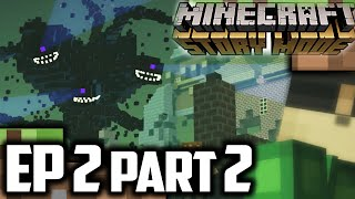 Minecraft Story Mode EPISODE 2 Part 2 | WITHER STORM! | Minecraft Story Mode Episode 2 Walkthrough