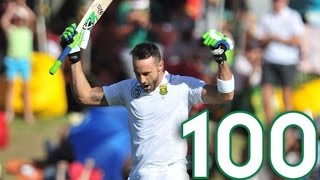 Faf Du Plessis Century vs Australia | Australia vs South Africa - 3rd Test  - HIGHLIGHT - Review