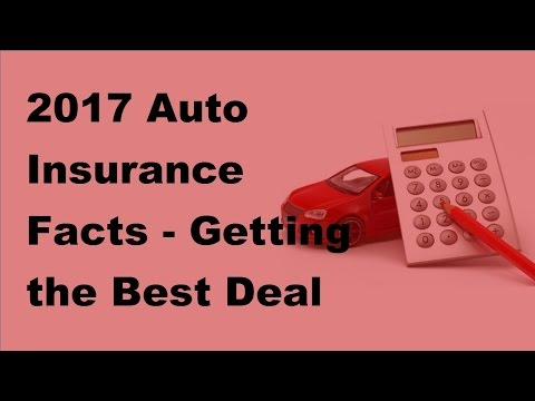2017 Auto Insurance Facts  |  Getting the Best Deal on Your Motor Trade Insurance