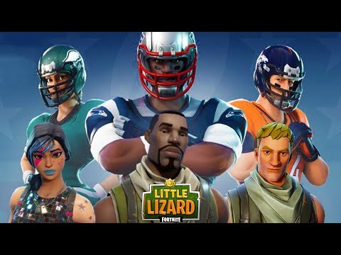 TRAINING NOOBS HOW TO PLAY FOOTBALL!! - *NEW NFL SKINS* Fortnite Short Films