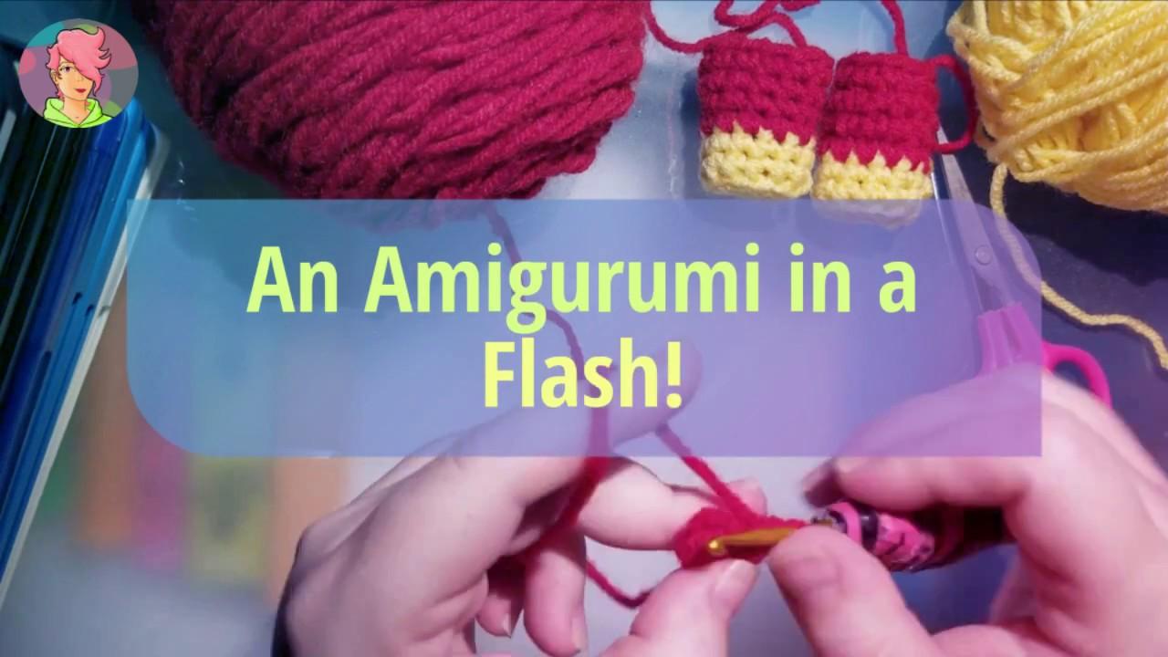 Un flash muy greñudo . #flash #amigurumishechoconamor #hechoamano ...   720x1280