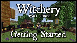 Witchery: Getting Started Part 3 (Spinning Wheel, Witches clothing, Kettle, and brews)