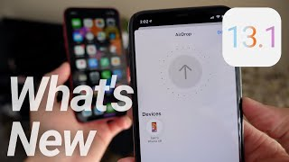 Major iOS 13.1 Update Released! New Wallpapers, Features & Changes!